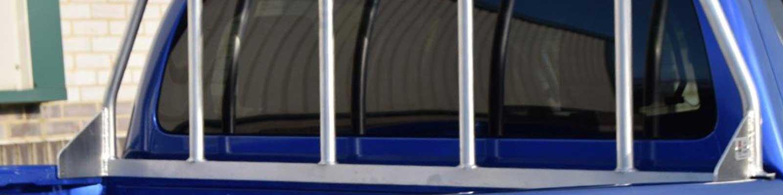 Ladder Rack Cab Guards