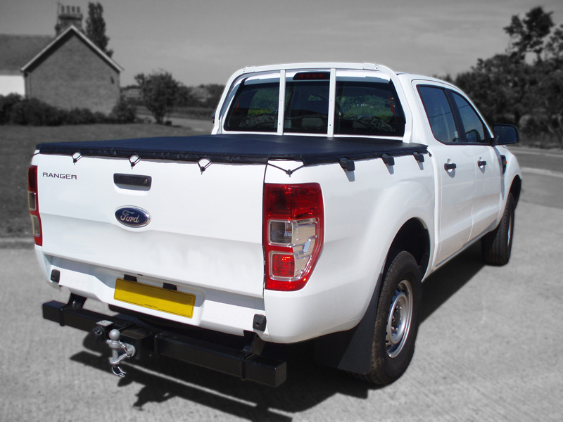 Ford Ranger 2012 On Double Cab Tonneau Cover Hook Type Fit