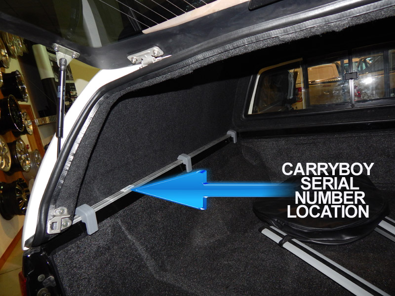 Carryboy 560 Replacement Rear Door Handle And Lock With