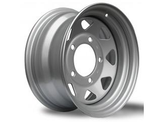 16X7 Landrover Discovery Grey 8 Spoke Steel Wheel