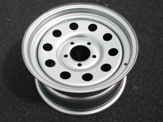 16X 8 Silver Modular Steel Wheel For Landrover Discovery
