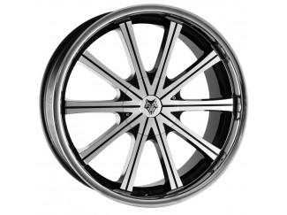 22 X 9.5 5:130 Wolfrace Genesis Stainless Steel Lip Wheel For VW Touareg