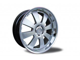 22 X9.5  Toyota Colorado Concerto Silver Alloy Wheel