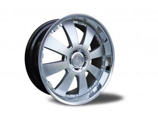 22 X9.5  Toyota Landcruiser 120 Concerto Silver Alloy Wheel