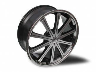 22 X 9.5 6:139 +20 Nissan Navara D22 D23 Wolf Ge Silver Wheel