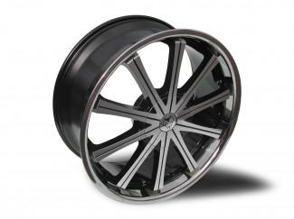 22 X 9.5 6:139 +20 Wolf Ge Silver Wheel