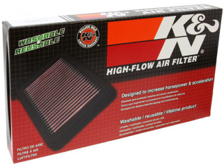 K&N Performance Air Filtration For Nissan Navara D40 2005 Onwards