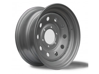 16X7 6-139 Ford Maverick Silver Modular Steel Wheel