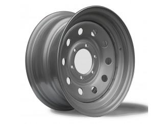 16X7 6-139 Toyota Surf Silver Modular Steel Wheel