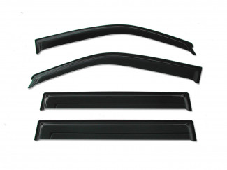 Actyon Trux Quad Quad Window Deflector Visors Set Of 4