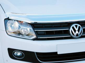 VW Amarok 2010 on Bonnet Guard (Chrome Finish)