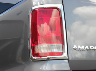 Chrome Tail Lamp Surrounds VW Amarok