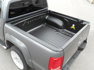 Vw Amarok Double Cab Aeroklas Heavyduty Truck Bed Liner Over Rail