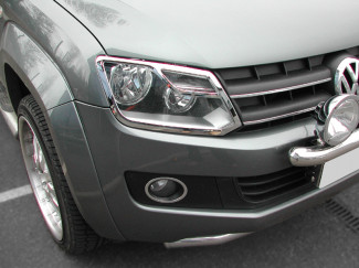 Chrome Headlamp Surrounds VW Amarok