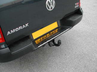 Stainless Steel Rear Bumper Step Guard For Volkswagen Amarok
