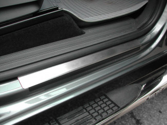 Volkswagen Amarok Stainless Steel Sill Protector Covers 4 Pce Without Logo