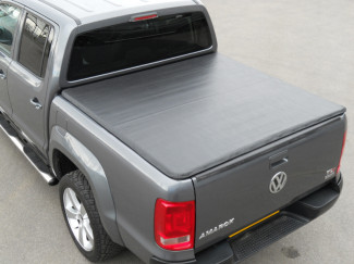 Volkswagen Amarok Double Cab Black Tonneau Cover Hidden Snap