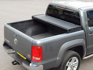 Alloy Tri-Fold Heavy Duty Tonneau Cover For Volkswagen Amarok