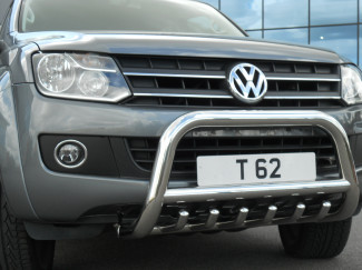 Volkswagen Amarok Stainless Steel Low A-Bar With X Bar And Bars