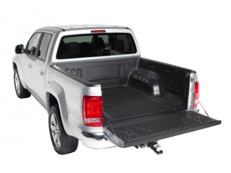 Vw Amarok Double Cab Truck Bed Liner Over Rail