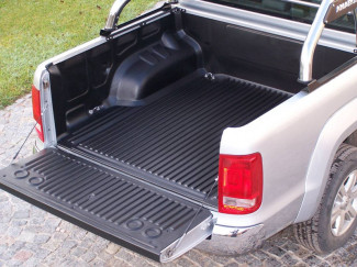 Vw Amarok Double Cab Truck Bed Liner Under Rail