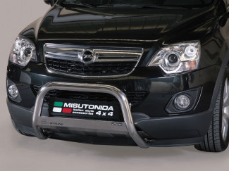 63mm Stainless Steel A-Bar By Misutonida For Vauxhall Antara 2011 On
