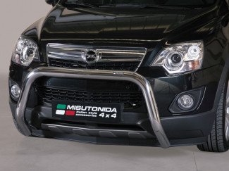 76mm Stainless Steel A-Bar By Misutonida For Vauxhall Antara 2011 On
