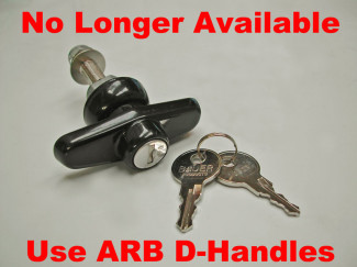 ARB 70MM Alloy Rear Door Handle and Keys (1 pair)