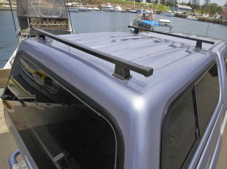 Mitsubishi L200 Curved Bed ARB Roof Bar System For Low Roof Canopies