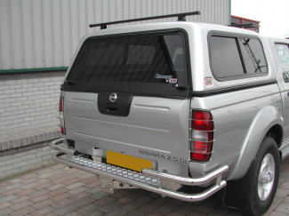 Low Roof ARB Mk1 Canopy Tailgate Glass 510mm