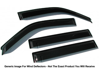 Mitsubishi ASX 10-13 Wind Deflectors 4pc Trux Adhesive Fit