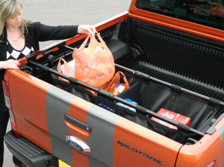 Isuzu Rodeo D-Max 2007 On Pick Up Truck Bed Tidy - Trux branded Pickup accessory