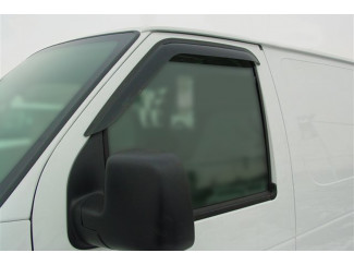 Citroen Berlingo Mk2 2008 on - Front Pair Of Wind Deflector Visors