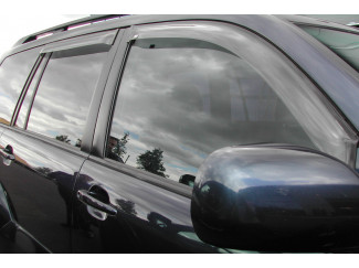 Bmw X5 Mk1 Trux Quad Window Deflector Visors Set Of 4