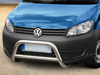 Stainless Steel 70mm Bull Bar A-Frame For Volkswagen Caddy 2011 On