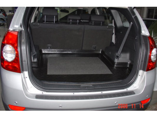 Chevrolet Captiva Mk1 5-7 Seat Liner Protection Mat For Boot-Cargo Area