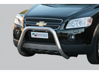 Chevrolet Captiva A-Bar Nudge Bar Bull Bar Stainless Steel 3Inch Mach Eu Approved