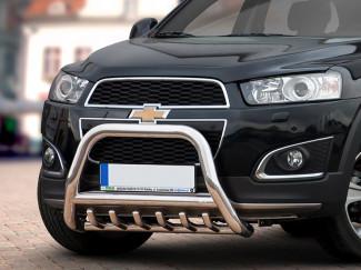 Chevrolet Captiva 11 Onwards Stainless Steel 70mm Nudge Bar