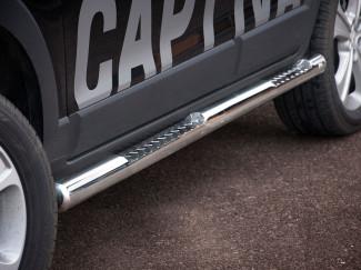 Stainless Steel Side Bars Chevrolet Captiva 2011 Onwards
