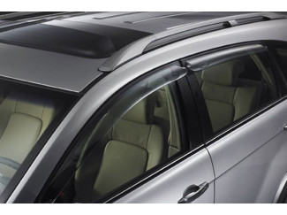 Chevrolet Captiva Front Pair Of Wind Deflector Visors