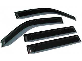 Small Quad Set Of Wind Deflectors For 03-12 Mazda 3 4dr And 5dr