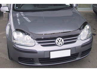 Dark Smoke Bonnet Guard For VW Golf 2003-2008