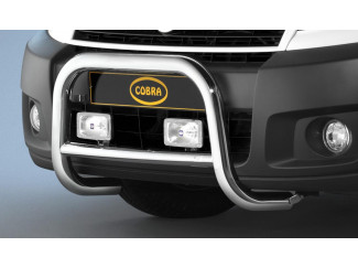 Spoiler Bar by Cobra for a Peugeot Expert  Stainless Steel front protector