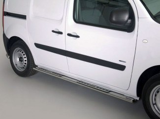 Mercedes Citan 2012 On Stainless Steel Design Side Bars By Mach