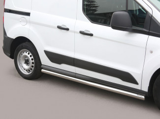 Stainless Steel Side Bar Set For SWB L1 Ford Transit Connect Mk2 2014 On