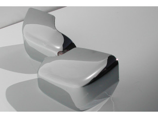 2007 on Honda CRV Chrome Door Mirror Covers