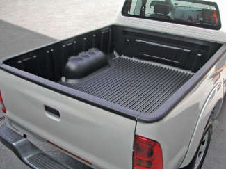 Nissan Navara D22-D23 Double Cab bed tray liner over rail