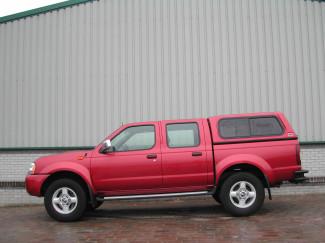 Nissan D23 02-05 Arb Low Window  Unpainted Canopy
