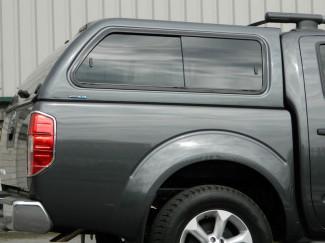 Nissan Navara D40 Double Cab Aeroklas Hard Top With  Side Windows