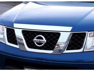Nissan Navara D40 Chrome Bonnet Trim